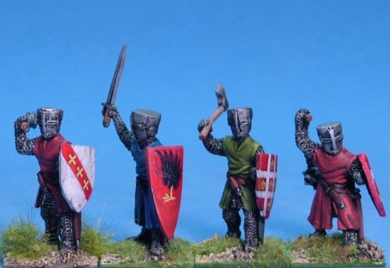 ME22 Foot knights with hand weapons 1.