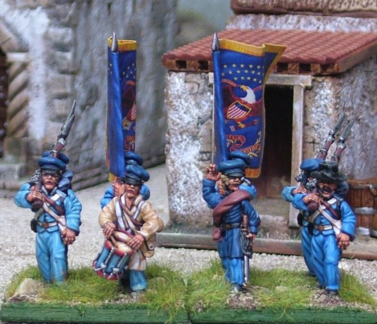 28mm mexican american war United States Infantry Command