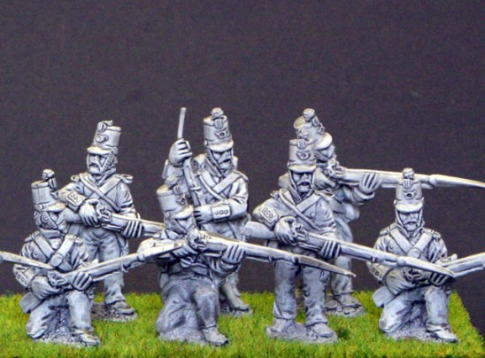 28mm mexican american war Mexican Light infantry Firing line