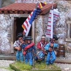 US Volunteers Command firing line
