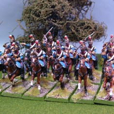 28mm mexican civil war Mexican Tulacingo Cuirassiers.