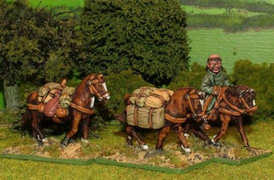 Mo11a Pack Horse