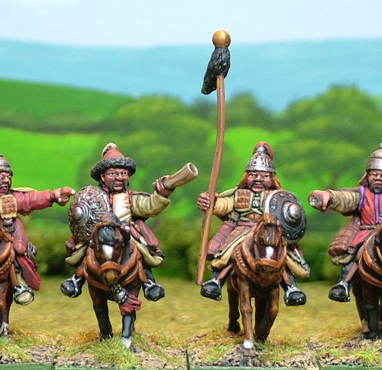 MO18 Heavy cavalry command on unarmoured horses.