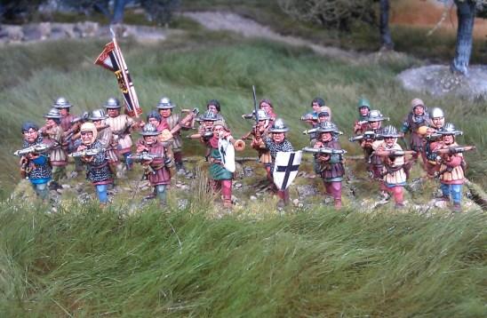 MED06 Armoured Crossbowmen deal.