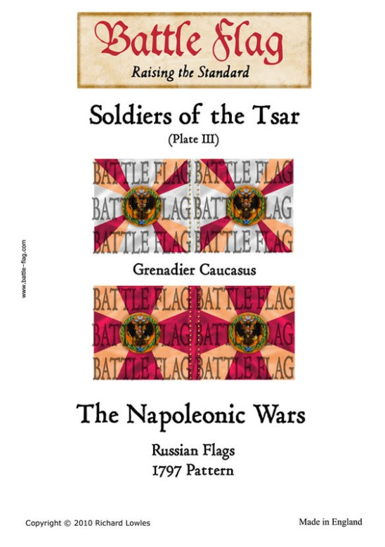 Grenadier Caucacus (Plate III)