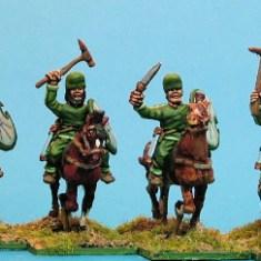 Median cavalry, sword & sagris