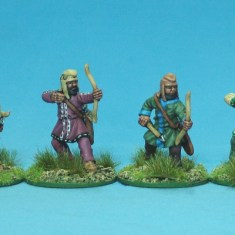 Achaemenid Persian light infantry archers