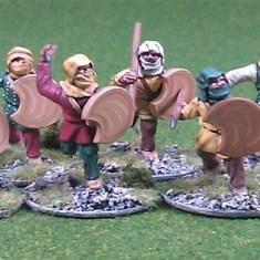 achaemenid Persian javelinmen