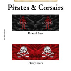 PC/004 Pirates & Corsairs, Edward Low, Henry Every