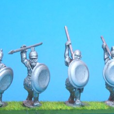 28mm Cartheginian African Libyan Hoplites miniatures