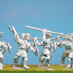 28mm ancient spanish caetrarti miniatures