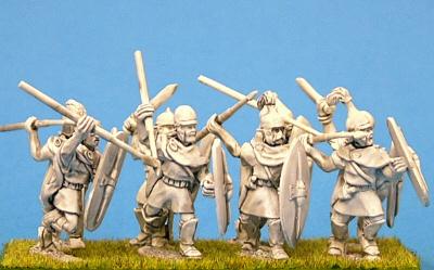 28mm ancient Celt Iberian Infantry miniatures