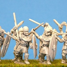 28mm ancient Celt Iberian Infantry miniatures