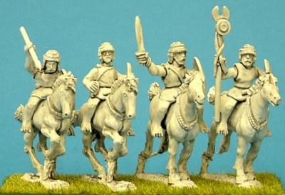 Numidian light Cavalry Comsmand miniature