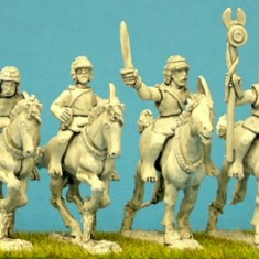 Numidian light Cavalry Comsmand miniature