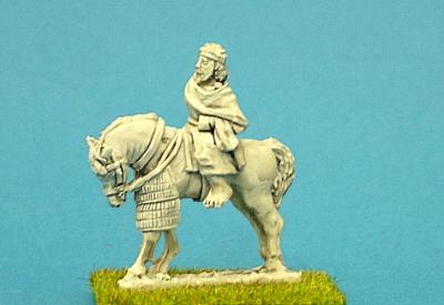 Numidian Prince on horseback.