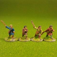 Slingers, bareheaded (4)