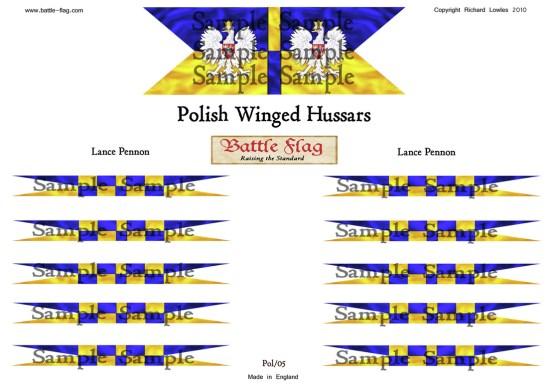 Polish winged Hussars