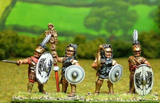 Triari command standing.