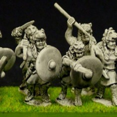 republican roman Velites wearing fur caps.