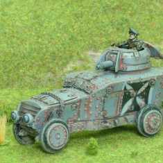 28mm 1/48 ww1 german Romfell Armoured Car