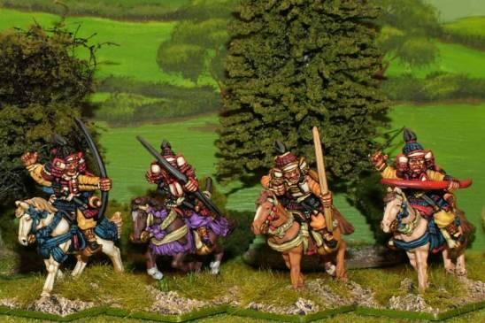 28mm Mounted Samurai archers.