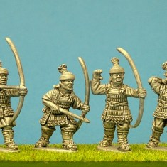 28mm Samurai Retainers with bow