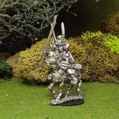 Samurai General on horse