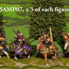 SAMP07 Mounted Samurai archers.