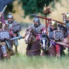 Noble Cavalry I, Half Barded Horses