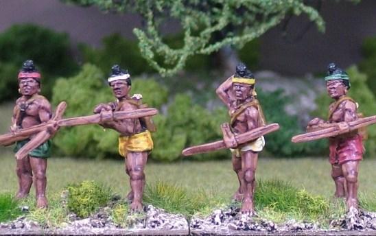 Levy crossbowmen