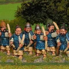 SU13 Armoured archers.