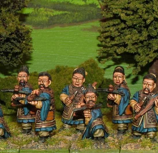 SU15 Armoured crossbowmen.