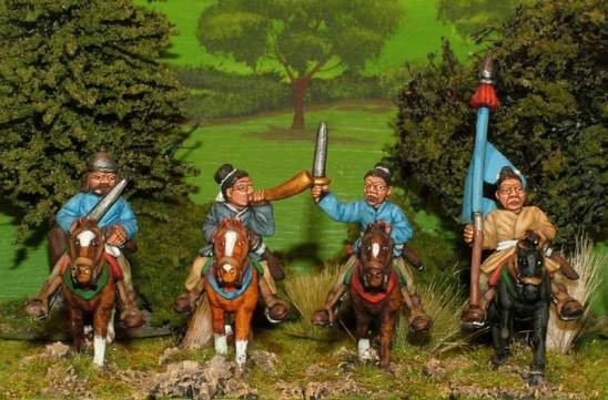 sung chinese Light cavalry command.