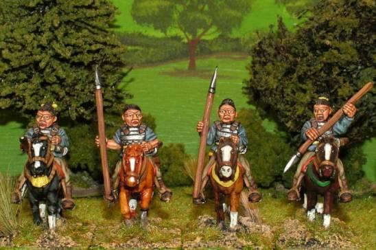 SU22 Light cavalry in light armour.