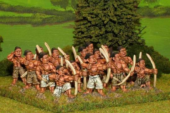 SUP13 Tribal archers.