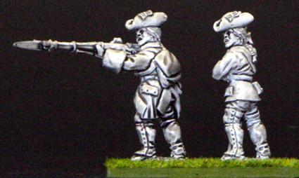 7YW05 French firing line