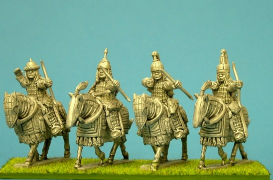 28mm tibetan Cataphract archers