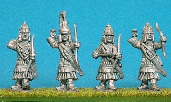 TB08 Dismounted cavalry archers.
