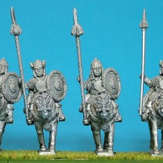 28mm tibetan Heavy cavalry.