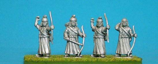 TB14 Nepalese archers.