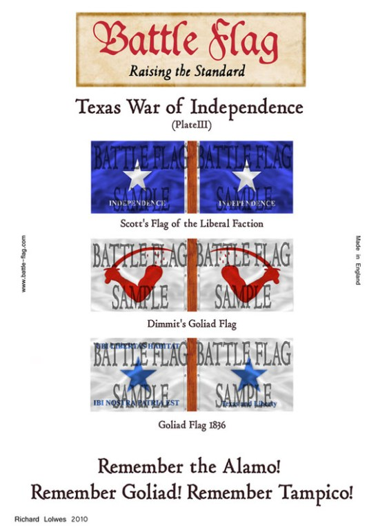 Texas War of Independence (Plate III)