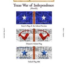 Texas War of Independence (Plate III)