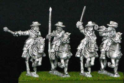 28mm thirty years war cavalry command
