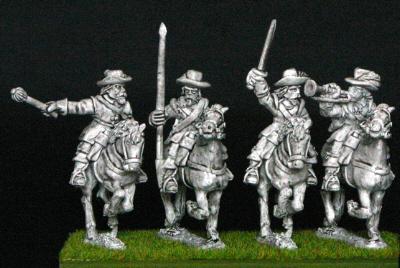 28mm thirty years war cavalry command