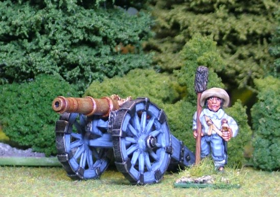 28mm thirty years war Medium Gun.