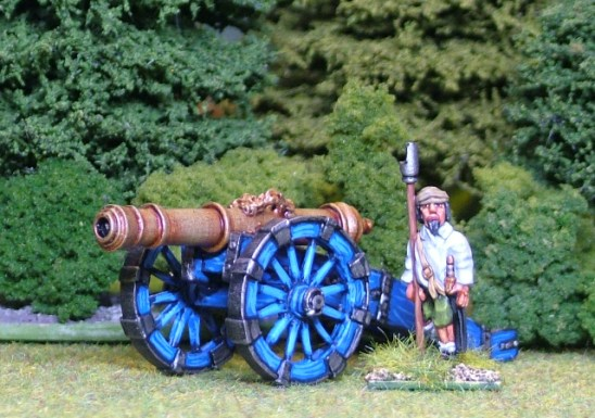 28mm thirty years war Heavy Gun.