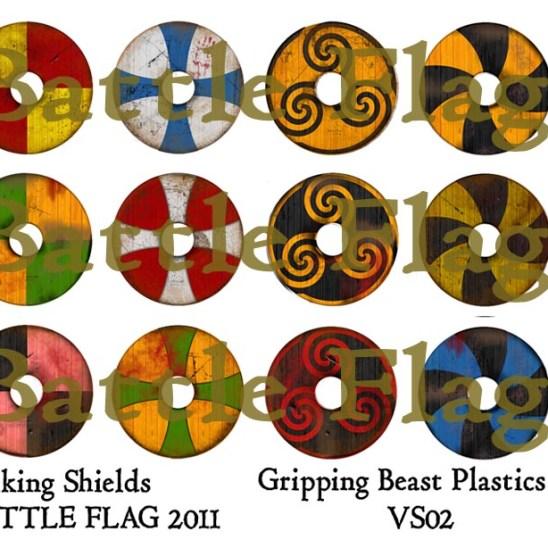 VS02 28mm Viking Shield designs