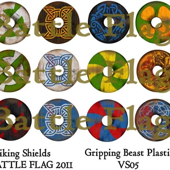 VS05 28mm Viking Shield designs