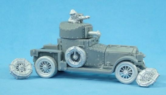 28mm Rolls Royce armoured car.